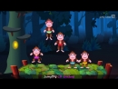 Five Little Monkeys Jumping On The Bed - Part 1 - The Naughty Monkeys - ChuChu TV Kids Songs
