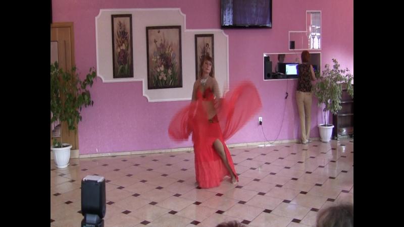 Лаврищева Ирина,рук.клуба восточного танца г.Феодосия Жасмин,концерт 26 мая 2018г