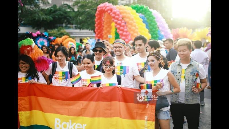 Huỳnh Lập cùng cộng đồng LGBT khuấy động Sài Gòn trong ngày hội tự hào - Viet Pride 2018