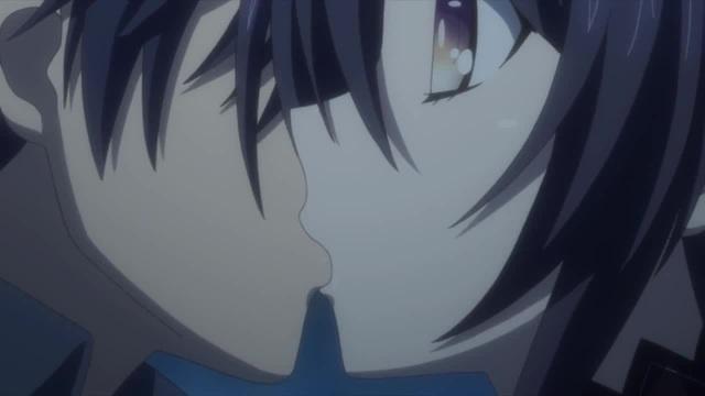 Шидо и Тока Поцелуй Рандеву с жизнью