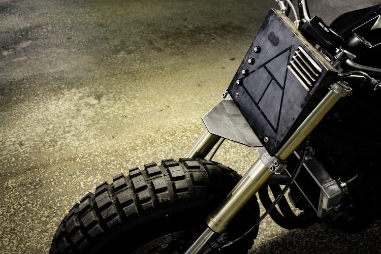 Кастом Droog Moto 12 на базе Kawasaki Ninja 650