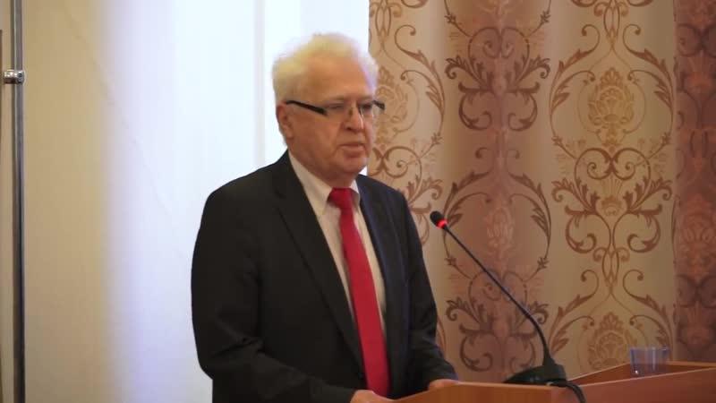 Академик РАН А.А. Гусейнов - Приветственное слово