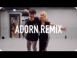 1Million dance studio Adorn - Miguel (ft. Wiz Khalifa)  Shawn Choreography