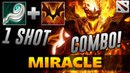 Miracle Shadow Fiend [ONE SHOT COMBO] Dota 2