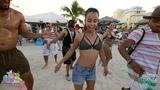 Robert, Melany, Jarrett - Salsa shines on the beach Aventura Dance Cruise - Miami 2018