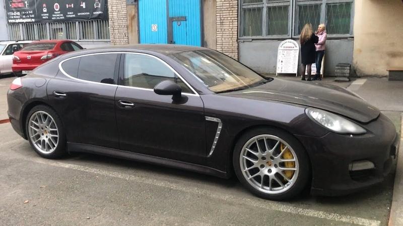 Самый дешёвый Porsche Panamera Turbo в стране ! 700 тысяч за тормозные диски ? Реальность ! играемвклевер life книги