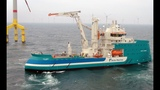 Offshore wind vessel Acta Auriga at work