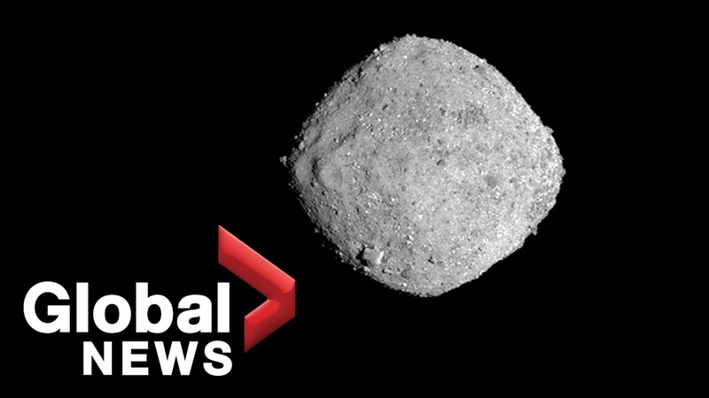 NASA's OSIRIS REx spacecraft lands on asteroid Bennu
