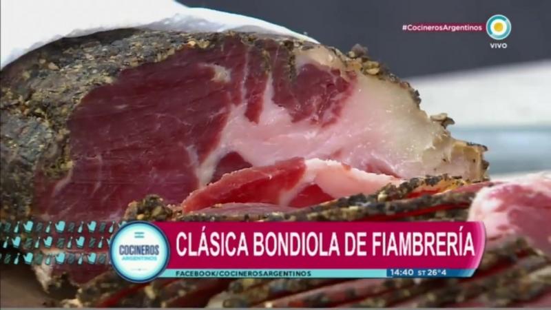 Bondiola salada - casera