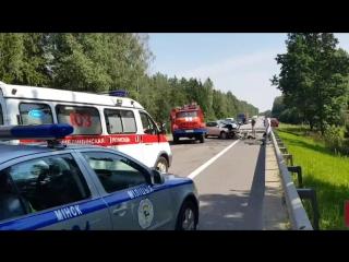 ДТП на трассе Р80 (Слобода — Паперня)