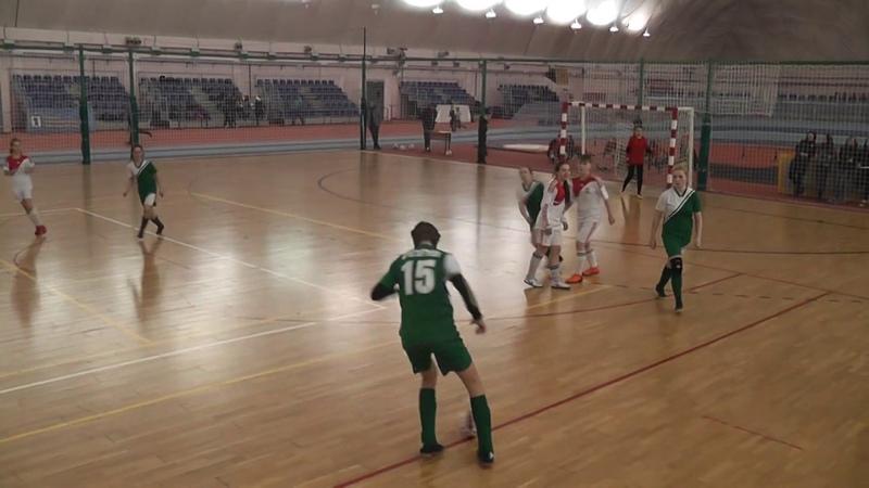 18-19 Девушки 03-04 матч за 3 место СШ№13-Бригантина 2 тайм