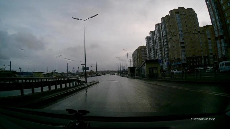 г.Тюмень 14.10.2018 С105ОТ72 Skoda Rapid Yandex Создание аварийной ситуации