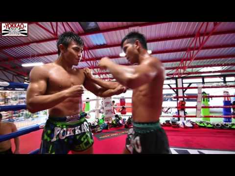 Muay Thai Clinching: Manachai Wuttichai - YOKKAO Training Center Bangkok