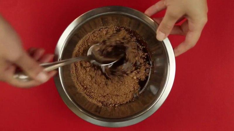 Веганский шоколадный мусс