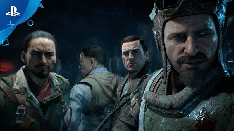 Call of Duty Black Ops 4 Zombies Blood of the Dead PS4