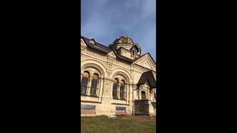 Гела Гуралиа - прямой эфир 14 окт 2018. Село Берёзовка. Храм необычной красоты. 1891 год.