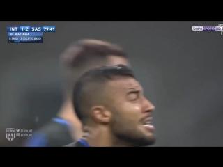 لاعب برشلونة المُعار لانتر ميلان, رافينيا ألكانتارا يُسجل ثاني أهدافه في الدوري الايطالي ️.mp4