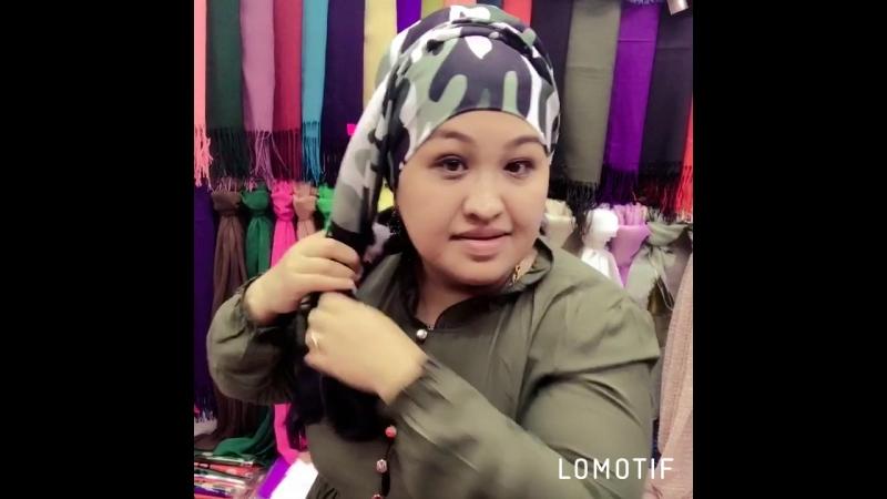 Камуфляжный шарф
