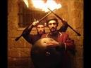 Israel Fire Hang Drum - Long version