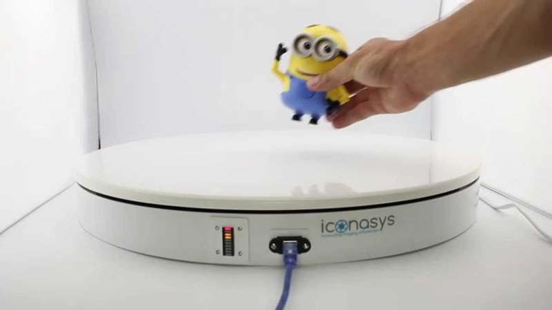 DIY 360 Product Photography - Iconasys Photography Turntables
