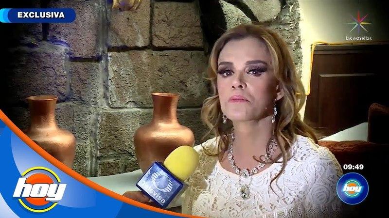 Lucía Méndez anhela volver a las telenovelas con protagónico | Hoy