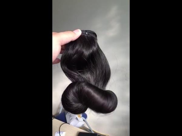 Double Drawn Raw Indian Human Weave Virgin Egg Curls Human Hair Cuticle Aligned Hair-Rain Hair