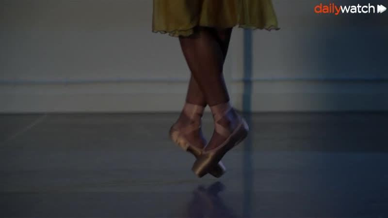 Пуанты для темнокожих танцоров балета