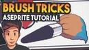 Aseprite Brush Tips and Tricks Pixel Art Tutorial