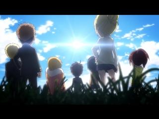 Attack on Titan- Junior High - Official Opening - Seishun wa Hanabi no you ni
