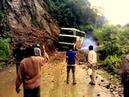 Accidente en el camino a los Yungas (Bolivia)
