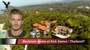 Beckham home? at Koh Samui Thailand