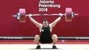 Азиатские игры 2018. Тяжёлая атлетика. Мужчины до 94 кг. Сохраб Моради Иран - золото