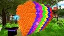 Learn Colors with Colorful Rubber Ducks Учим Цвета Уточки Aprendizaje a Color con Bolas de Colores