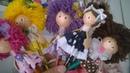 Ponteiras menininhas pompons