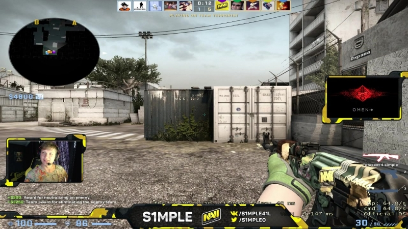 S1mple one tap ACE