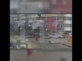 Взрыв газового баллона в припаркованном автомобиле