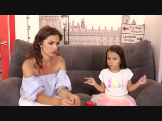 Челлендж отгадай песню наоборот вместе с марьяна ро и саша спилберг вика против мамы   вики шоу