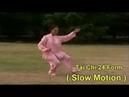 Tai Chi 24 form - slow motion