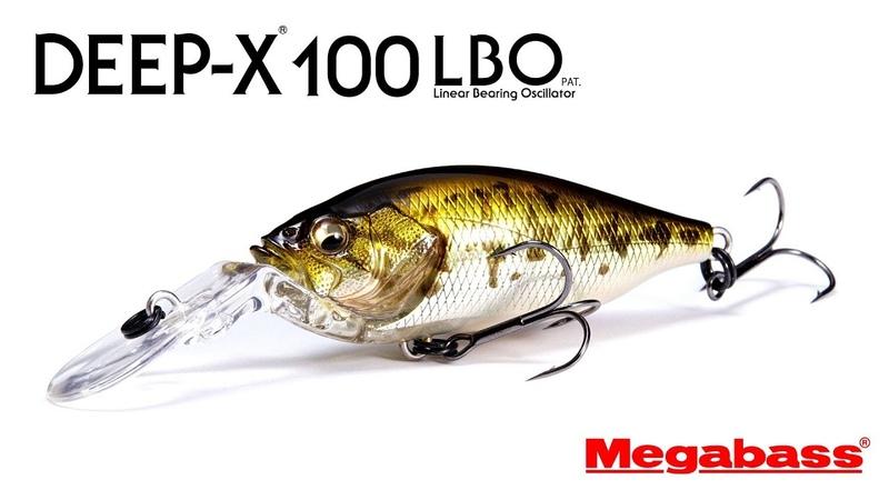 ハイパーレスポンス・クランクベイト。「DEEP-X100 LBO」
