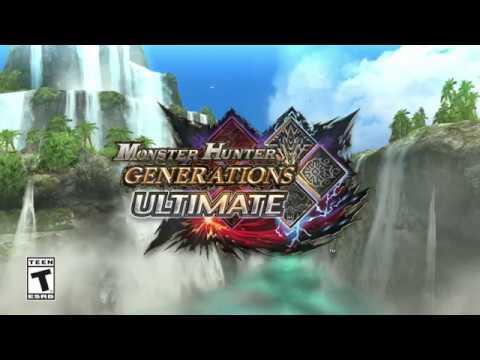 Monster Hunter Generations Ultimate - The Legend of Zelda: Breath of the Wild Collaboration Trailer