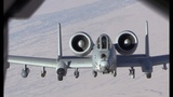 A-10 Warthogs inflight refueling during operations in Afghanistan