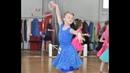 Спортивно-бальные танцы Дети Соло. Соревнования по спортивным танцам Весеннее танго, Киев