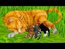 СИМУЛЯТОР Маленького КОТЕНКА 22 Челлендж с животными виртуальными котиками ПУРУМЧАТА
