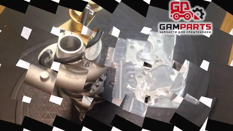Турбокомпрессор для двигателя кубота Z851