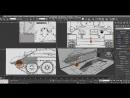 Моделирование танка Т 34 3DMax 3D Modeling