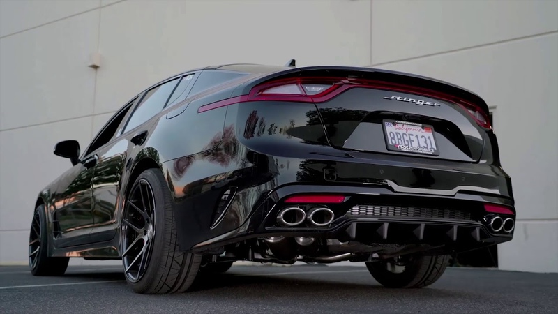 Kia Stinger 3.3T GRiP Exhaust System by ARK Performance