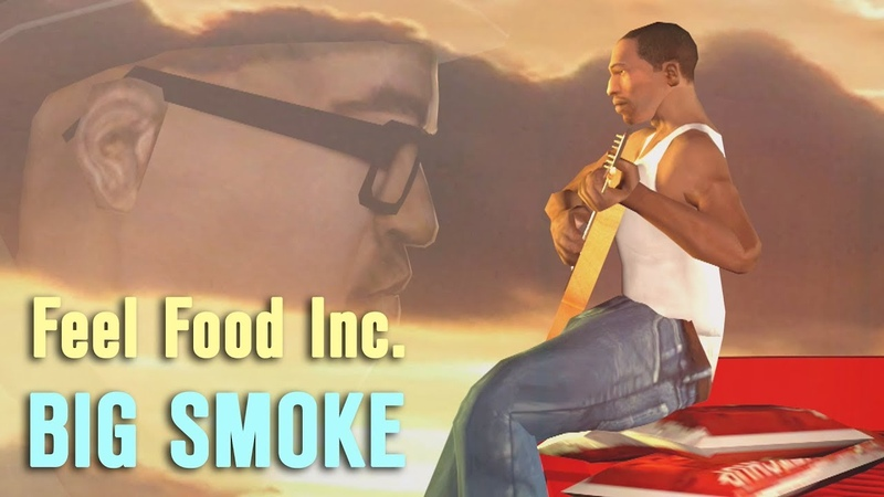 Big Smoke - Feel Food Inc. (feat. Ryder Sweet) - SFM Gorillaz Feel Good Parody