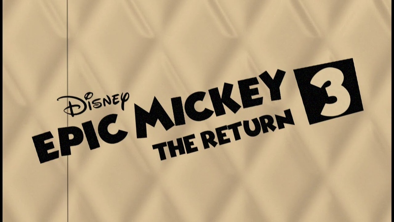 Epic Mickey 3 Soundtrack - Titlescreen (v2)