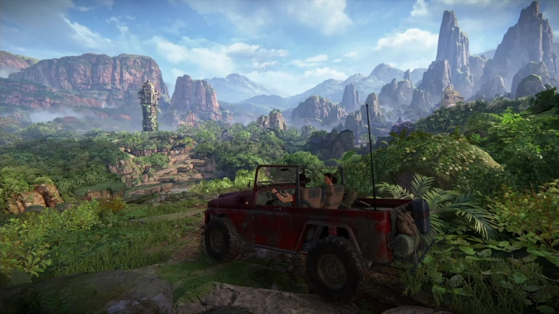 Марафон Uncharted: Утраченное наследие 2 [PS4 Pro] [60fps]