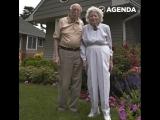 Эта замечательная пара 80 лет провела вместе
